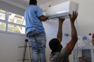 Saúde instala climatizadores nas Unidades Básicas de Saúde