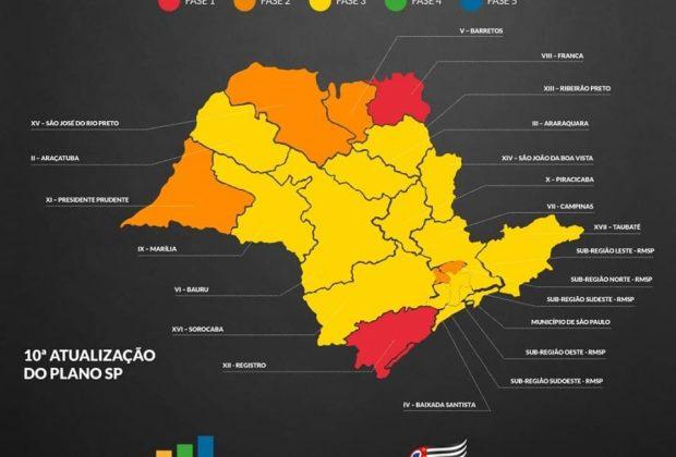 Estiva Gerbi está agora na Fase Amarela do Plano São Paulo