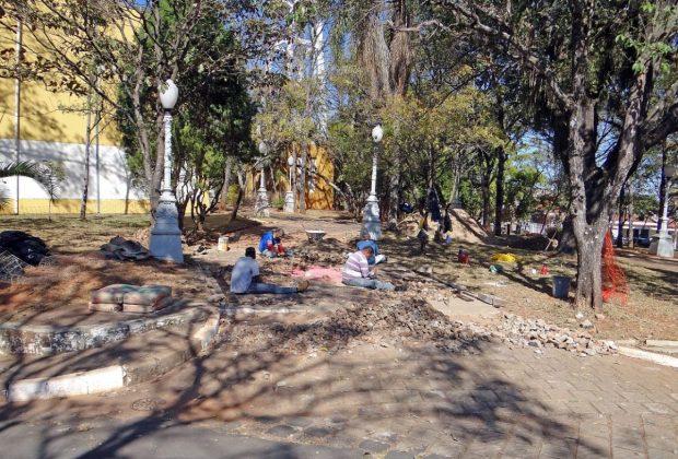 Revitalização do Parque Juca Mulato continua