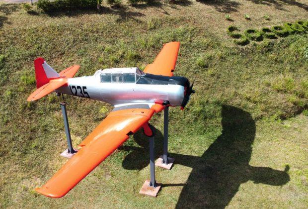 Estância Hidromineral de Socorro ganha ícone da aviação mundial: North American T-6 Texan