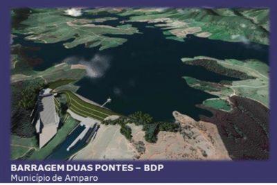 Barragens de Pedreira e Duas Pontes geram 2 mil empregos e estações de tratamento de esgoto