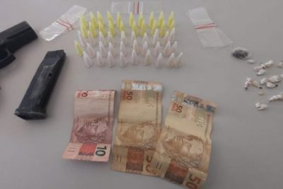 Polícia Municipal prende dois indivíduos por tráfico de drogas
