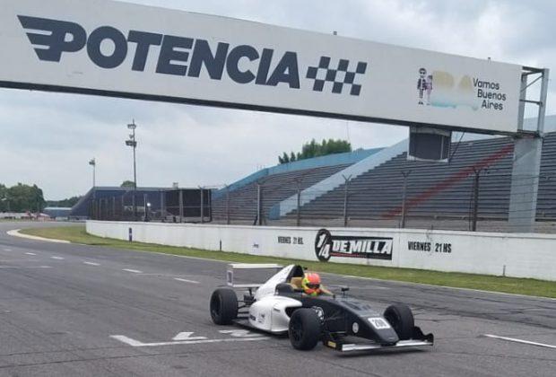 Piloto campineiro João Pedro Maia é o mais rápido nos testes da Fórmula 4 FIA Argentina