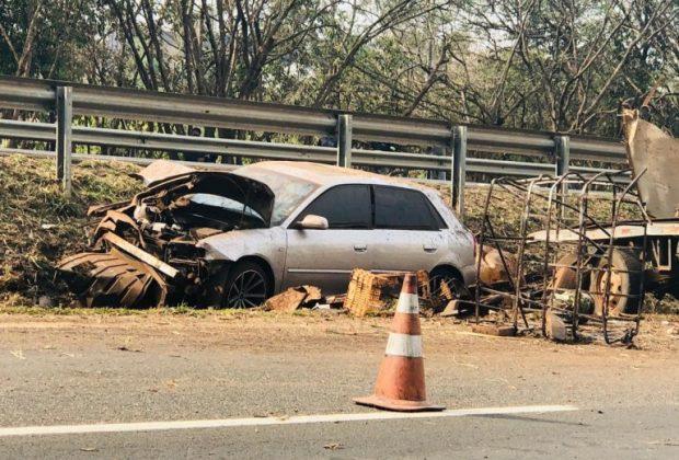 Acidente faz vítima fatal na rodovia SP-332 na altura de Cosmópolis