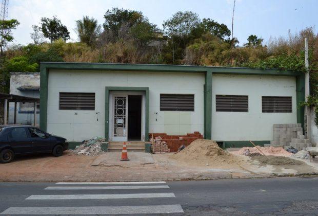 Prédio da antiga Delegacia de Polícia está sendo reformado pela Prefeitura de Pedreira