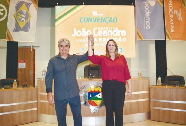 Convenção confirma João Leandro como pré-candidato a prefeito da Posse