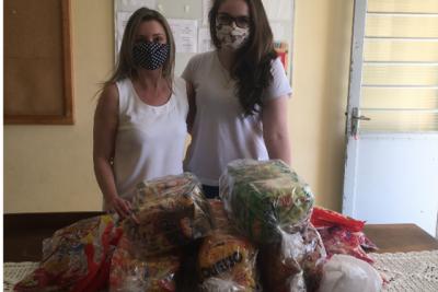 Alunos de Pedagogia do Uniesi arrecada doces para entidade que atende crianças em Itapira
