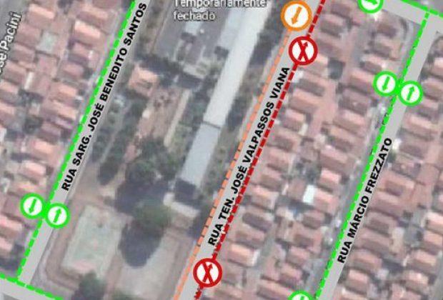 Trânsito terá alteração próximo a Ana Isabel, local para a realização de testes de Covid-19 em idosos   Mogi Mirim