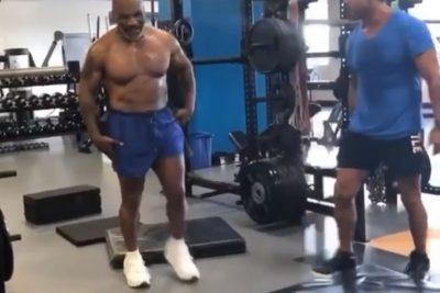 Mike Tyson revela que passou uma semana de cama após vídeo de treinamento pesado
