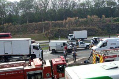 Grave acidente na SP – 340 deixa família de Santo Antônio de Posse ferida