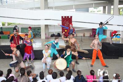 ICA Apresenta: Espetáculo Cultural Esquadrão Bombelhaço
