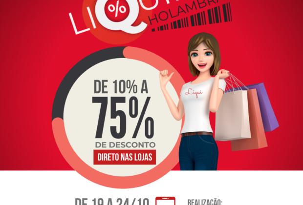 Com descontos de até 75%, Liquida Holambra vai de 19 a 24 de outubro