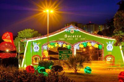 Socorro Luzes de Natal – Estância Hidromineral de Socorro será decorada com mais de 1 milhão de luzes e material reciclado
