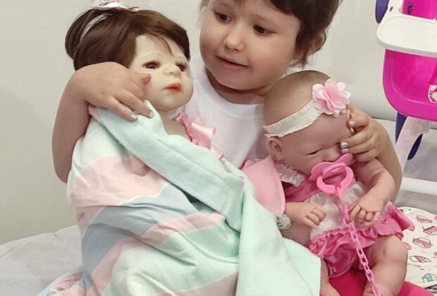 Sonho realizado: Paciente do Boldrini ganha boneca da Make-A-Wish® Brasil