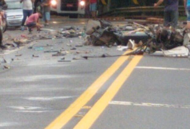 Acidente na SP – 147 deixa motorista gravemente ferido