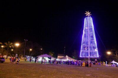 Jaguariúna terá Natal com o encanto das luzes e trenó do Papai Noel