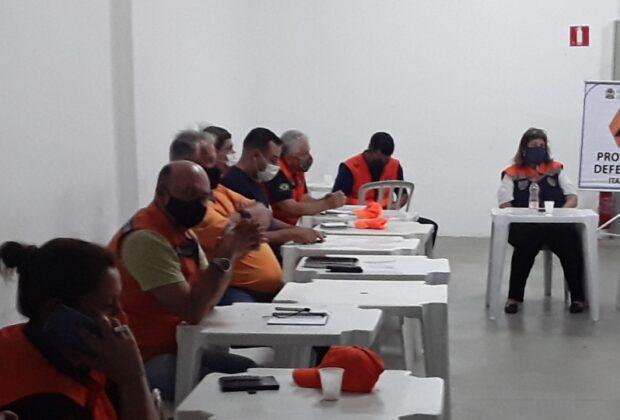 Representantes de Defesas Civis da RMC estiveram reunidos em Itatiba