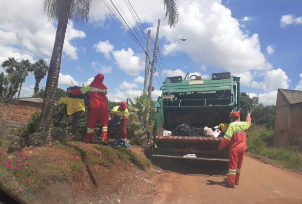 106 toneladas de lixo são recolhidas após retorno da coleta em Artur Nogueira