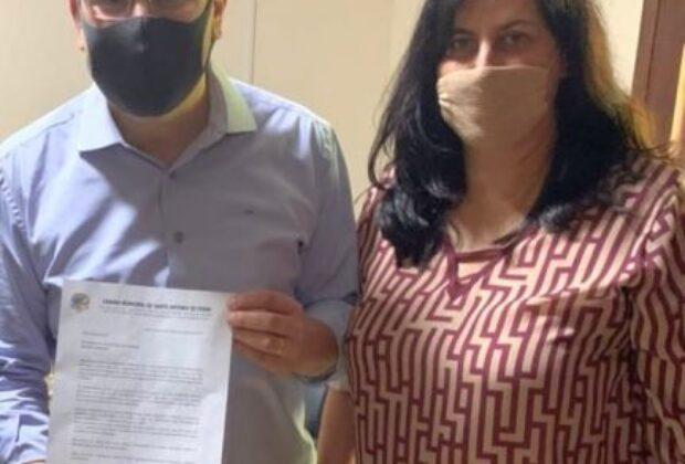 Vereadora Claudia Pinho Lalla pede apoio do deputado estadual Rafael Zimbaldi a projetos e ações de melhorias no município