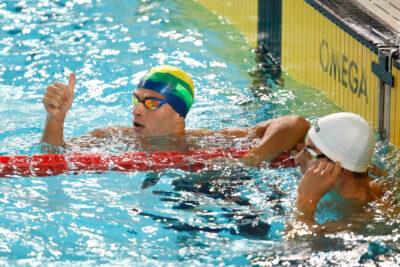 Minastenistas abrem o Sul-americano de Natação com cinco medalhas