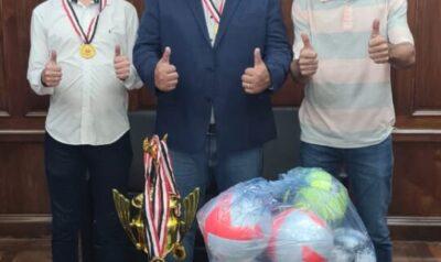 Secretaria de Esporte conquista kit esportivo no Governo Estadual