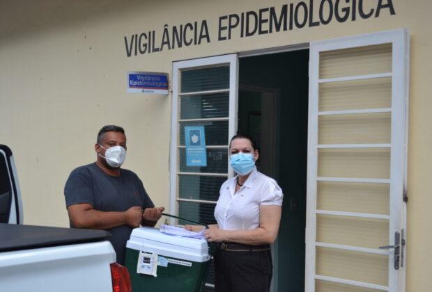 Pedreira antecipa a vacinação contra a COVID-19 de pessoas com 67 anos