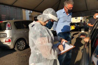 Jaguariúna inicia testagem em massa da população para Covid-19