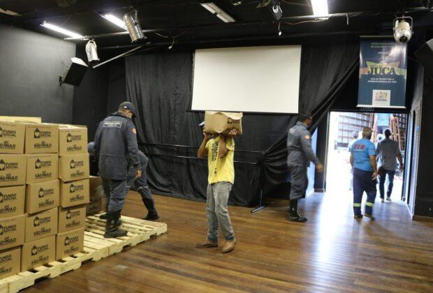 Estado distribui primeiros lotes de cestas de Programa Alimento Solidário aos municípios paulistas