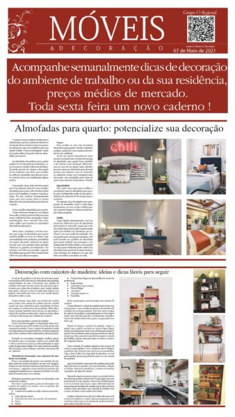 CADERNO MÓVEIS & DECORAÇÃO EDIÇÃO 04