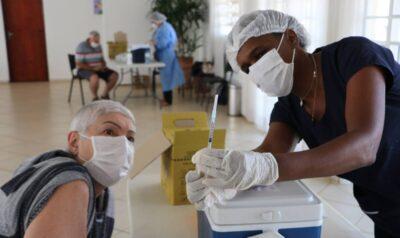 Moradores de Holambra elogiam novo sistema de vacinação contra a Covid-19