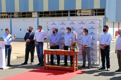 Prefeito participa de anúncio de instalação de nova multinacional em Mogi Guaçu