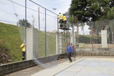 Prefeitura de Jaguariúna inicia revitalização de praças públicas
