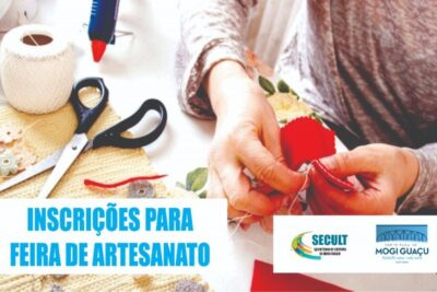 """Feira de Arte e Artesanato """"Arte e Mãos"""" está com inscrições abertas"""