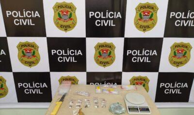 Policia Civil de Posse realiza operação de busca e apreensão no bairro São Judas Tadeu