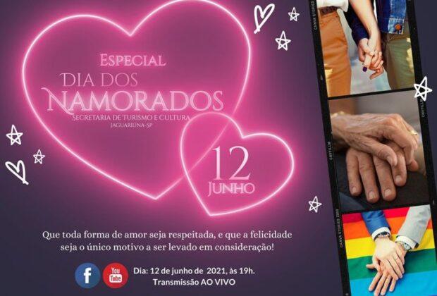 Dia dos namorados terá programa especial On-line da Escola das Artes