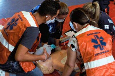 Curso de pós-graduação realiza simulação de emergência