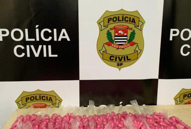 POLÍCIA CIVIL DE SANTO ANTONIO DE POSSE APREEENDEU GRANDE QUANTIDADE DE DROGAS NO JD. SÃO JUDAS