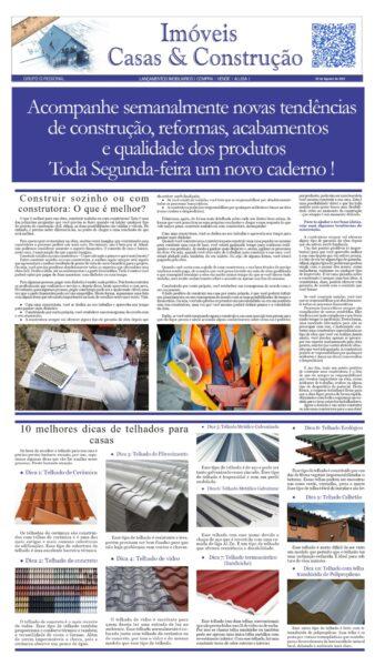 CADERNO IMÓVEIS, CASA E CONSTRUÇÃO EDIÇÃO 16