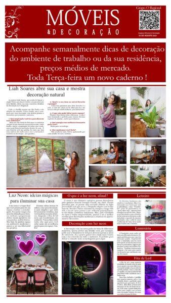 CADERNO MÓVEIS E DECORAÇÃO EDIÇÃO 16