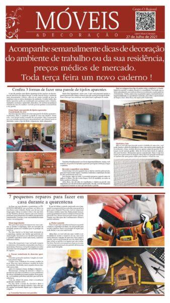 CADERNO MÓVEIS E DECORAÇÃO EDIÇÃO 15