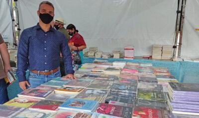 Mogi Guaçu promove no Recanto a Feira Popular do Livro até 14 de agosto