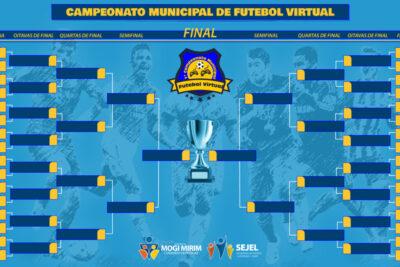 Vai começar o 1º Campeonato de Futebol Virtual