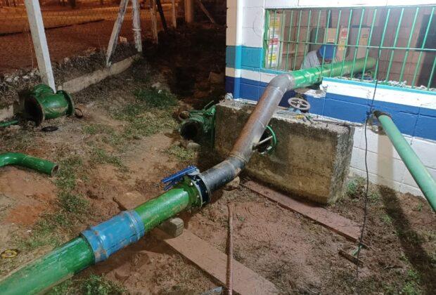Águas de Holambra executa melhorias em Estação Elevatória de Água