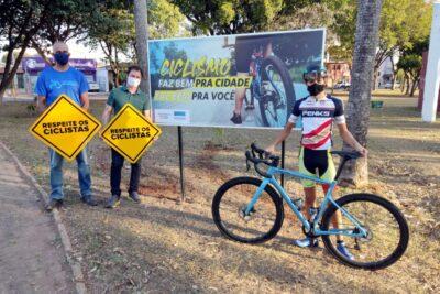 No Dia Nacional do Ciclista, Secretaria de Esporte e Lazer inicia Campanha de Conscientização