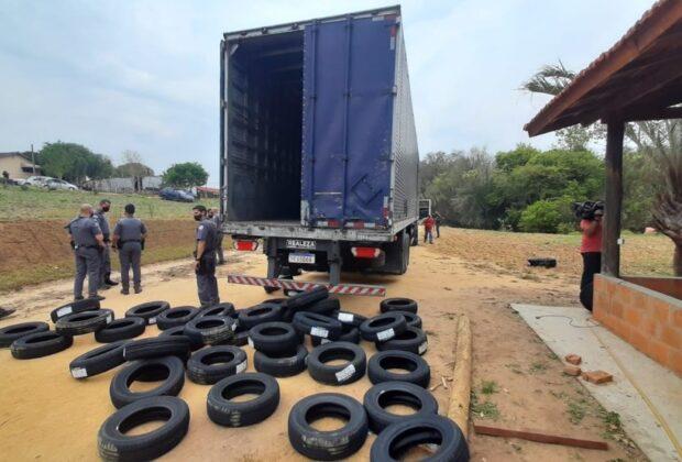 Quadrilha é detida com carga roubada em Jaguariúna