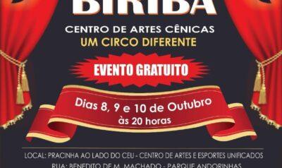 Circo Teatro Biriba em Cosmópolis