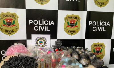 Três elementos são presos por tráfico em Santo Antônio de Posse